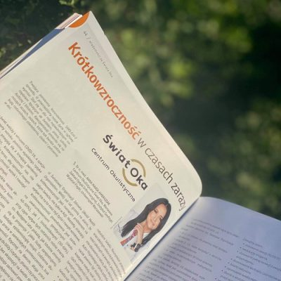 W nowym numerze Optyki artykuł dr n. med. Anny Marii Ambroziak i mgr Justyny Kiermasz.