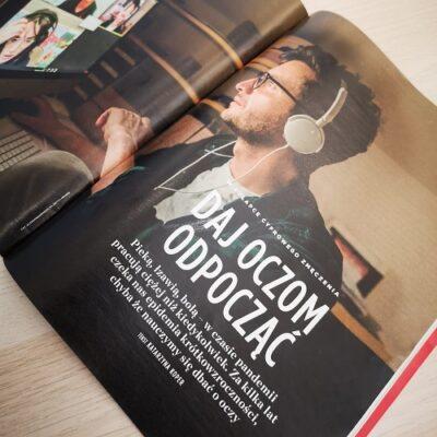 W nowym Newsweeku ooczach wczasie pandemii koronawirusa. Warto przeczytać!